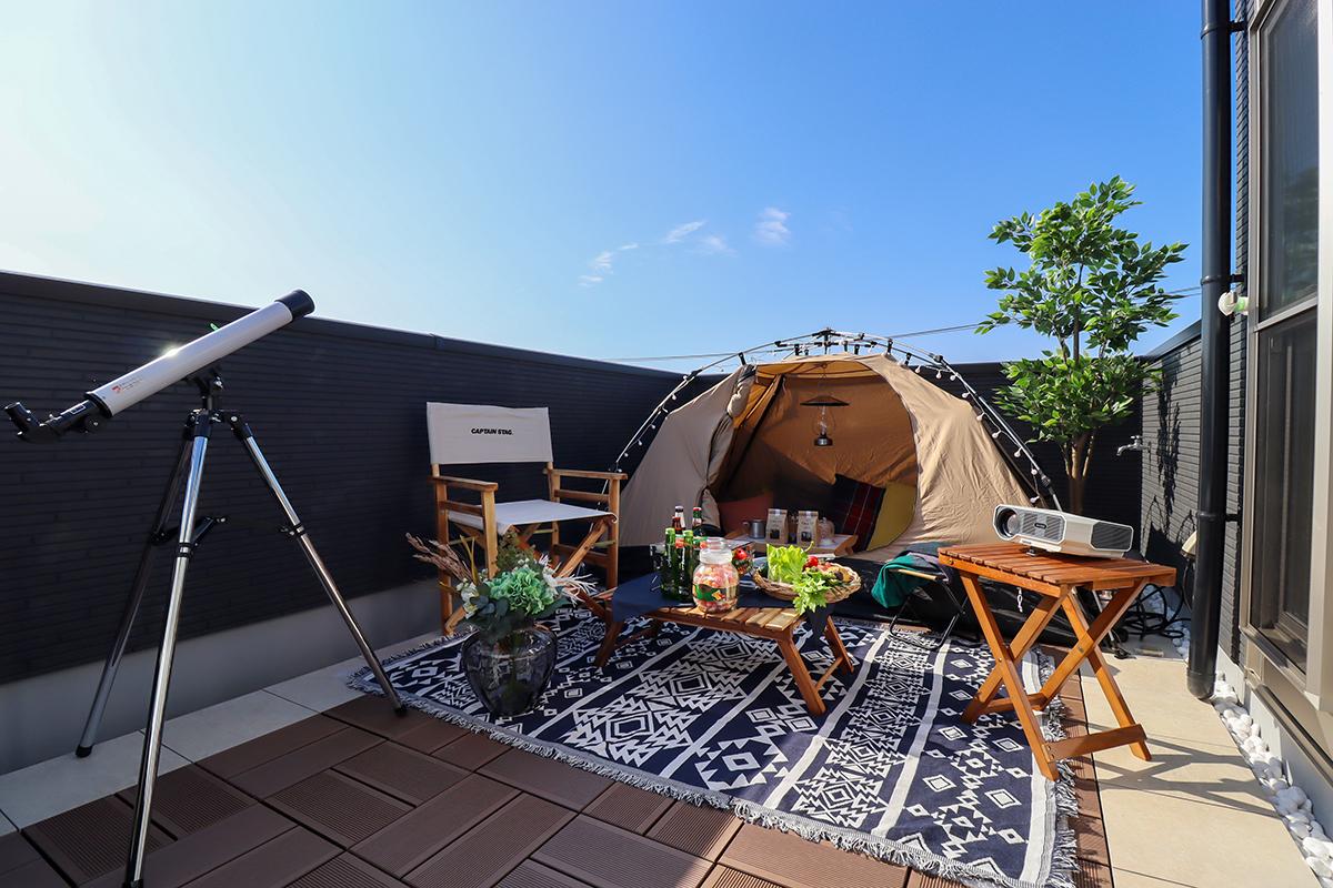 スカイバルコニー体験会開催中!わが家だけのプライベート空間で家族の暮らしがもっと豊かに。